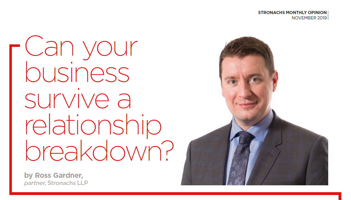 Can your business survive a relationship breakdown?