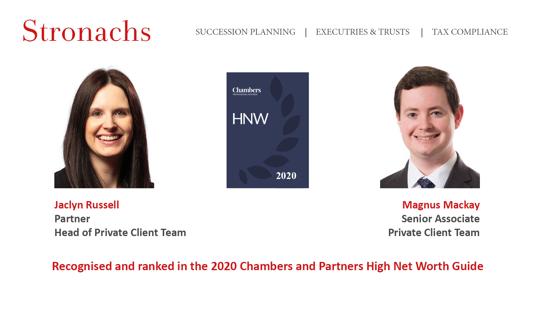 Chambers and Partners High Net Worth Guide 2020